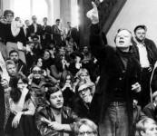 1968 - BRD - Besetzung der Frankfurter Uni SDS